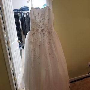 Wedding dress size 14 Michaelangelo